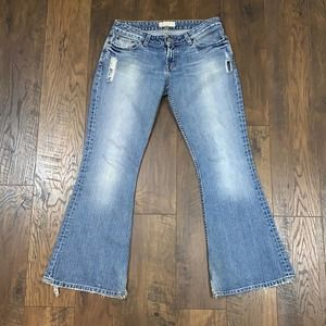 BKE Star Bootcut Distressed Jeans